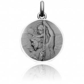 Medalla San Cristóbal Plata