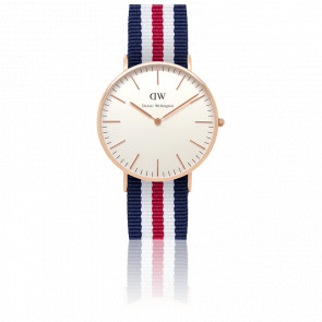 Reloj Classic Canterbury Señora Oro Rosa 36mm