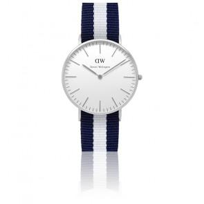 Reloj Classic Glasgow Plateado Señora 36mm