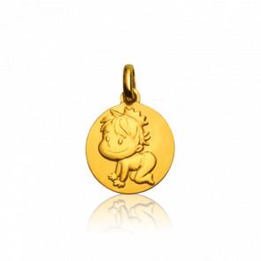 Medalla Oro Amarillo 9k, Blagueur