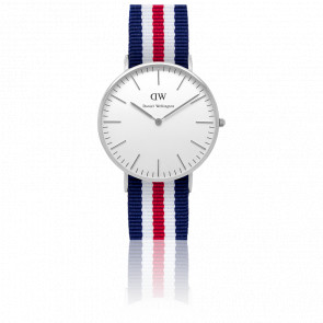 Reloj Classic Canterbury Señora Plateado 36mm