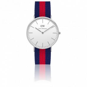 Reloj Classic Oxford Señora Plateado 36mm