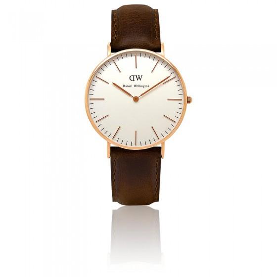 991b3e176741 ... Marcas de relojes     Daniel Wellington. Reloj Classic Bristol Oro Rosa  40mm