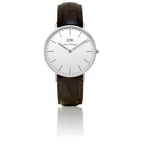 Reloj Classic York Plateado Señora 36mm