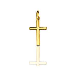 Cruz Oro Amarillo 12x20mm