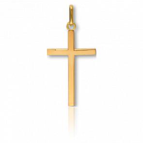 Cruz lisa Oro amarillo