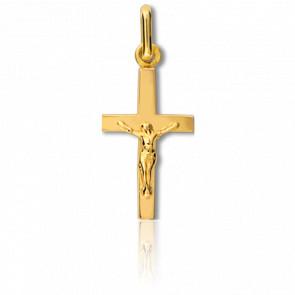 Cruz con Cristo Oro amarillo