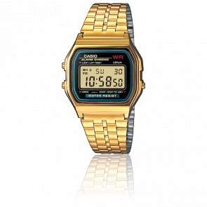 Reloj Casio Collection - Gold y Azul -A159WGEA-1EF