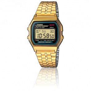 Reloj Casio Collection - Gold y Azul -A159WGEA-1EF