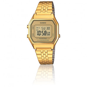 Casio Collection - LA680WEGA-9ER - Dorado LED