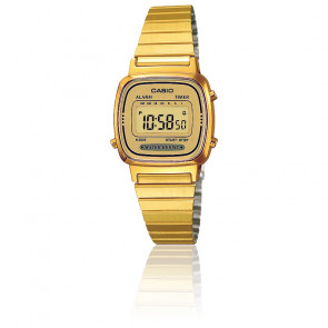Casio Collection - LA670WEGA-9EF - Dorado