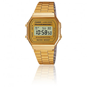 Casio Collection - Dorado - A168WG-9EF