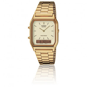 Reloj Casio Collection - AQ-230GA-9DMQYES - Dorado
