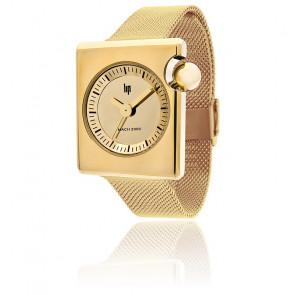 Reloj Roger Tallon Mach 2000 Duchesse Oro Correa Milanesa