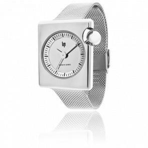 Reloj Roger Tallon Mach 2000 Duchesse Cromo Mirror Correa Milanesa