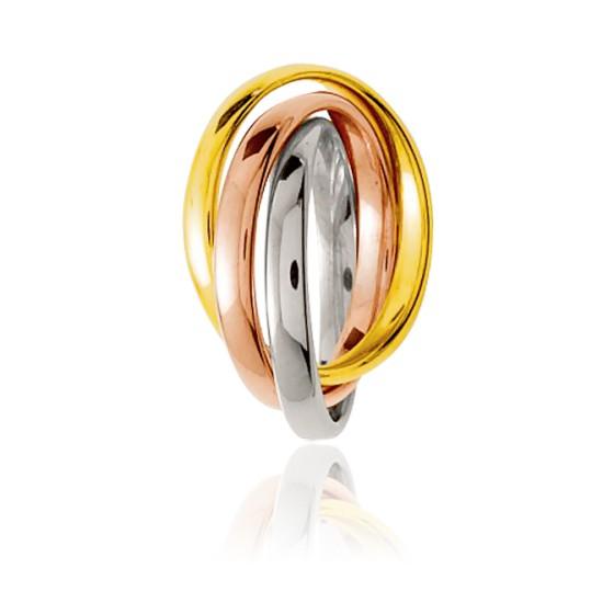Anillo 3 Oros de 18k Finesse 2,50mm