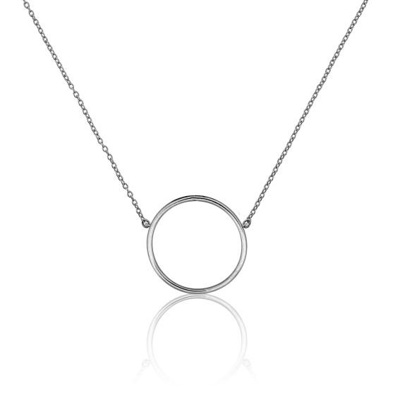 86655235cf87 Collar Círculo Oro Blanco Ø17mm - Ocarat