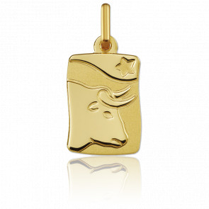 Medalla horóscopo Tauro Oro amarillo 18k