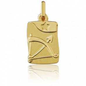 Medalla horóscopo Sagitario Oro amarillo 18k