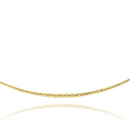 f15f39f79133 Cadena de Oro Amarillo tipo cadena espiga 40 cm - Manillon - Ocarat