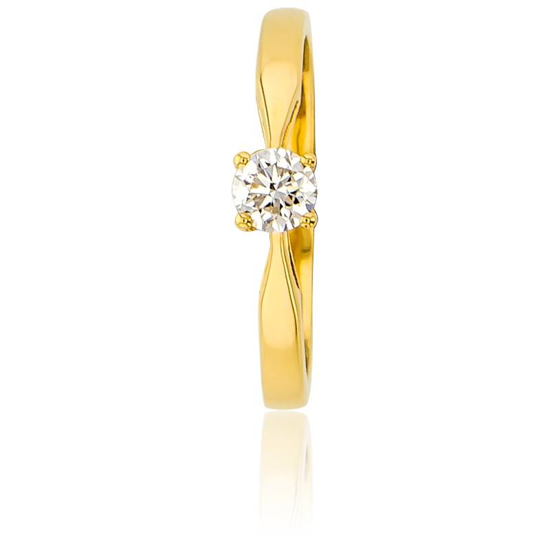 421d61eb4e68 Alianza compromiso Oro Amarillo y Diamante peso 0