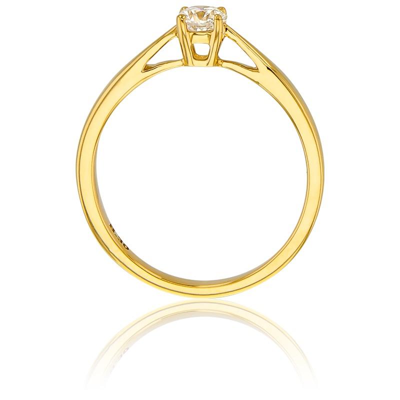 8a6dcc34e3d4 Alianza compromiso Oro Amarillo y Diamante peso 0