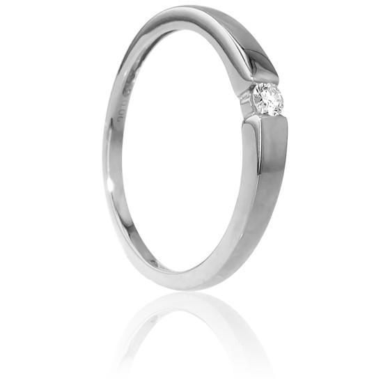 d22cfb600a6e Anillo de compromiso barato Oro Blanco y diamante - Ocarat