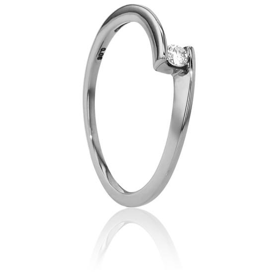 Anillo de compromiso oro blanco diamante solitario ocarat for Precio rodiar anillo oro blanco
