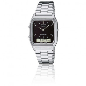Reloj Casio Collection - AQ-230A-1DMQYES - Plateado