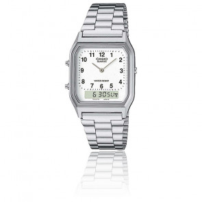 Reloj Casio Collection - AQ-230A-7BMQYES - Plateado
