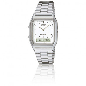 Reloj Casio Collection -AQ-230A-7DMQYES - Plateado
