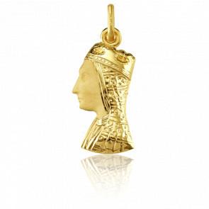 Colgante Virgen de Monserrat Oro amarillo