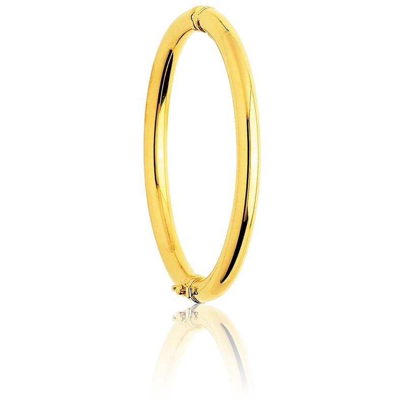 Pulseras de oro redondas