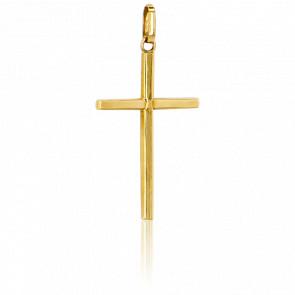 Cruz Oro Amarillo 18k, 23,5 x 15mm