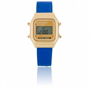 Reloj Gold Blue Vintage