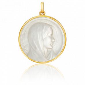 Medalla Virgen de la Anunciación Nácar