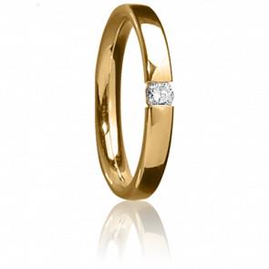 Alianza Céto Oro amarillo y diamante