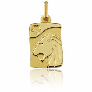 Medalla Horóscopo Leo Oro amarillo 9k