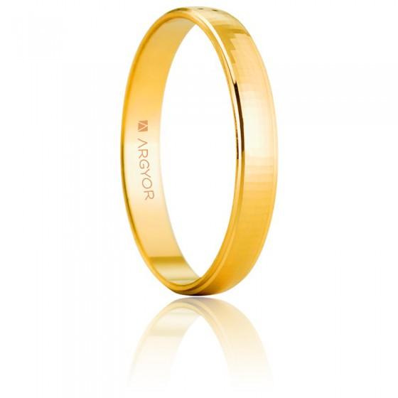 2feced65f95f Alianza de boda de oro amarillo de 3 mm - Argyor - Ocarat