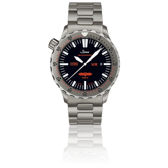 0813d6843 Reloj de buceo UX GSG 9 correa de acero - Sinn - Ocarat