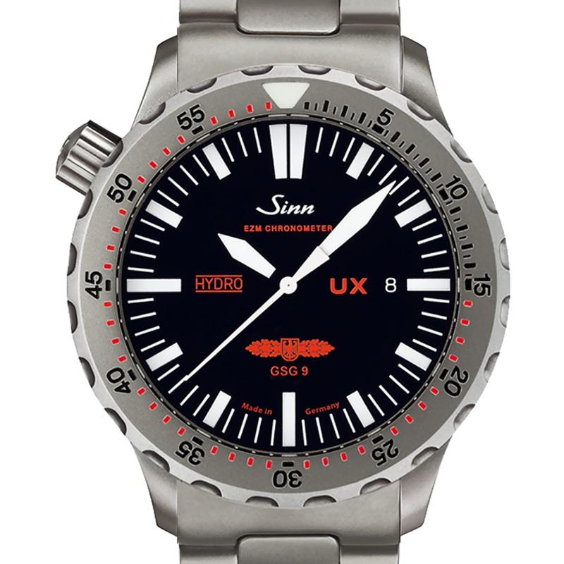 9a20c541f1d6 Reloj de buceo UX GSG 9 correa de acero - Sinn - Ocarat