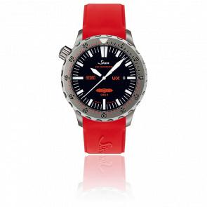 Reloj de buceo UX GSG 9 Correa Silicona Roja