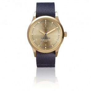 Reloj Gold Lansen Navy Blue