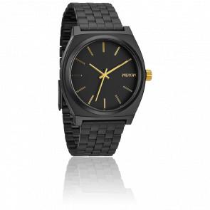 Reloj The Time Teller Negro y Dorado - A045 1041