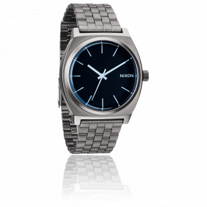 Reloj The Time Teller Gris Antracita y Azul Cristal - A045 1427