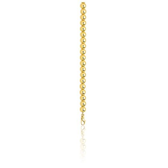8b6e14c8e556 Cadena de Oro Amarillo 18 kt de bolas de 45cm - Manillon - Ocarat