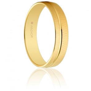 Alianza de oro amarillo Camille Oro