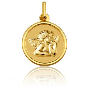Medalla Redonda Ángel Rafael Oro Amarillo