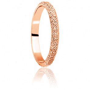 Alianza Diamanteka 3,50 mm Oro Rosa