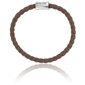 Pulsera Bebé Factory Bronce Chocolate